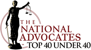 [Logo of] The National Advocates Top 40 Under 40